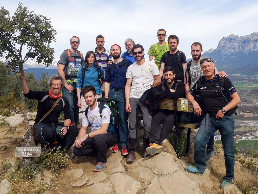 Actividad de deporte de aventura especifica al mundo de la empresa