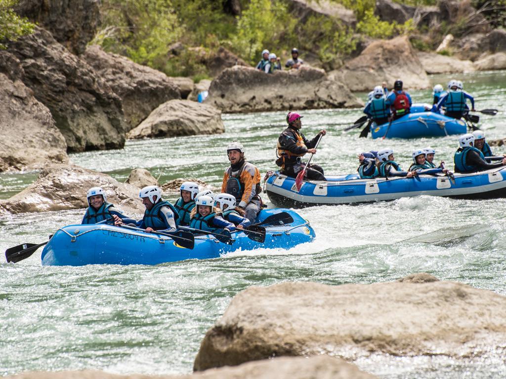 Incentivo de empresa y actividad de Rafting Huesca - Jaca