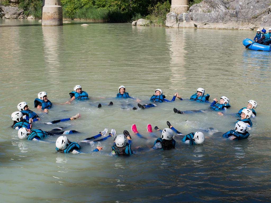 Outdoor training - trabajo de grupo para empresas en Huesca